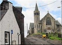 NS6113 : Derelict church in New Cumnock by Nigel Thompson