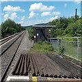 ST0381 : Electricity substation near Pontyclun railway station by Jaggery