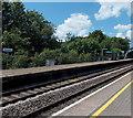 ST0381 : Pontyclun railway station platform by Jaggery