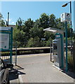ST0381 : Ticket machine at an entrance to Pontyclun railway station by Jaggery