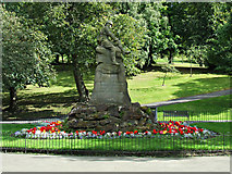 NS5766 : South African War Memorial in Kelvingrove Park by Thomas Nugent
