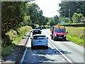 SJ8472 : A34 near Capesthorne Hall by David Dixon