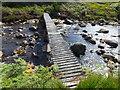 "NR8937 : ""Fisherman's bridge"" across Iorsa Water by sylvia duckworth"
