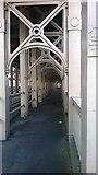 NZ2563 : High-level Bridge, Newcastle: pedestrian walkway by Christopher Hilton