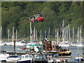 SX8851 : Air sea rescue display - Dartmouth Regatta by Chris Allen
