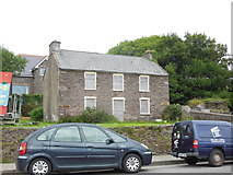 Q4401 : Boarded up house on Strand Street, Dingle by Ian S