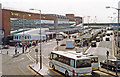 TQ0775 : Heathrow Airport: entrance to Terminal 2, 1992 by Ben Brooksbank