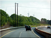 S1586 : The M7 / E20 towards junction 21 by Ian S