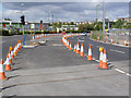 SK5638 : Queens Drive at Enterprise Way by Alan Murray-Rust