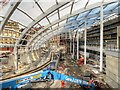 SJ8499 : New Roof Under Construction at Manchester Victoria Station by David Dixon