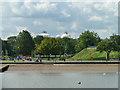 TQ6574 : Gordon Promenade and Fort Gardens, Gravesend by Robin Webster