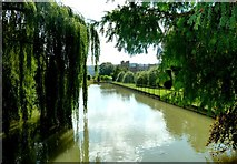 SP0327 : View of Sudeley Castle from lake path by Clint Mann