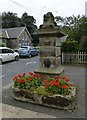 NU1301 : Pant on Junction of Front Street with Church Street, Longframlington by Russel Wills