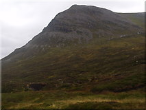NN9193 : Southern flank of Coire Mharconaich above River Eidart, Glenfeshie by ian shiell