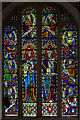 SS2511 : Stained glass window, Kilkhampton church by Julian P Guffogg