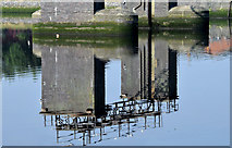 J3473 : McConnell's weir, River Lagan, Belfast (September 2014) by Albert Bridge