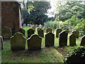 TF5275 : The Graveyard at St Andrews Church, Anderby by Ian S