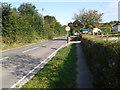 SX0681 : Road passing St Treath Pre-School by Rob Purvis