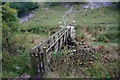 SK1765 : Footbridge, Lathkill Dale by Peter Barr