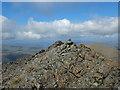 NG4422 : Summit cairn, Sgùrr na Banachdaich by John Allan