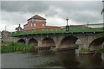 SK7954 : Trent Bridge, Newark-on-Trent by Stephen Richards
