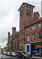 SK7953 : Former Nottingham and Notts Bank, Kirk Gate, Newark-on-Trent by Stephen Richards