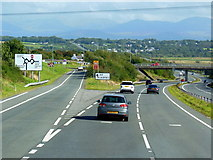 SH4473 : The A55 North Wales Expressway by Ian S