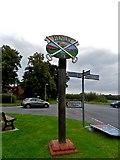 TM1551 : Henley, village sign by Bikeboy