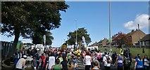 NZ3964 : Prince Edward Road East, Marsden, South Shields by Chris Morgan