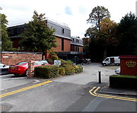 SJ8481 : Crown House, Wilmslow by Jaggery