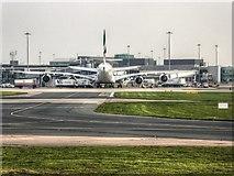 SJ8184 : Manchester Airport, Terminal 1 by David Dixon