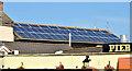 J5980 : Solar panels, Donaghadee by Albert Bridge