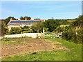 SY3892 : Westhay farm house by Hugh Craddock