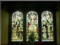 NY1700 : East window in St. Catherine's church, Boot by pam fray