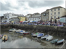 SW8132 : Falmouth Harbour and Customs House Quay by Rod Allday