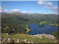 NY3405 : Enjoying the view of Grasmere by Karl and Ali
