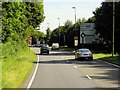 SU6251 : Basingstoke Ringway West approaching Winchester Road Roundabout by David Dixon