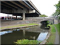 SP0089 : Road bridges old and new by Richard Law