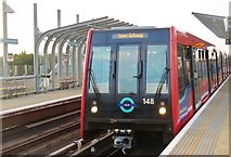 TQ4380 : Docklands Light Railway by Colin Smith