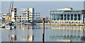 J3474 : CQ1, City Quays, Belfast - September 2014(2) by Albert Bridge