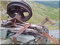 NY2315 : Disused Equipment, Rigg Head Quarries by Mick Garratt