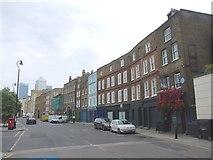 TQ3680 : Narrow Street, Limehouse by Chris Whippet