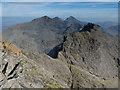 NG4423 : Sgùrr a' Mhadaidh summit view by John Allan