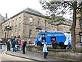 NT0077 : Referendum campaigners, Linlithgow by Richard Webb