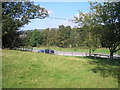 NT2838 : Car park at Kailzie by Sandy Gemmill