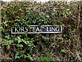 TM3098 : Kirstead Ling sign by Adrian Cable