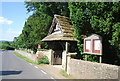 TQ4744 : Lych gate, Church of St Peter, Hever by N Chadwick