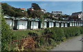 SS6087 : Coastal chalets, Langland Bay, Swansea by Jaggery
