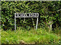 TM3197 : School Road sign by Adrian Cable
