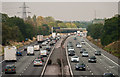 SJ7373 : M6 Motorway by Peter McDermott